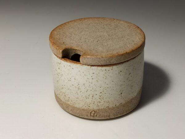 zuccheriera gialla ceramica